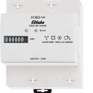 elektriciteit meters telwerk