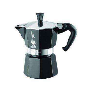 6 Moka Zwart Bialetti Koffiekan Tassen Cookingware TFl1KJc3