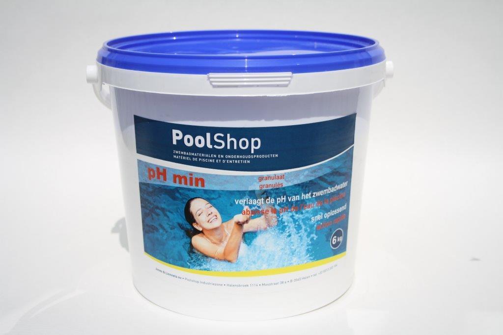 Poolshop ph 5 kg poolshop zwembad artikelen for Zwembad artikelen
