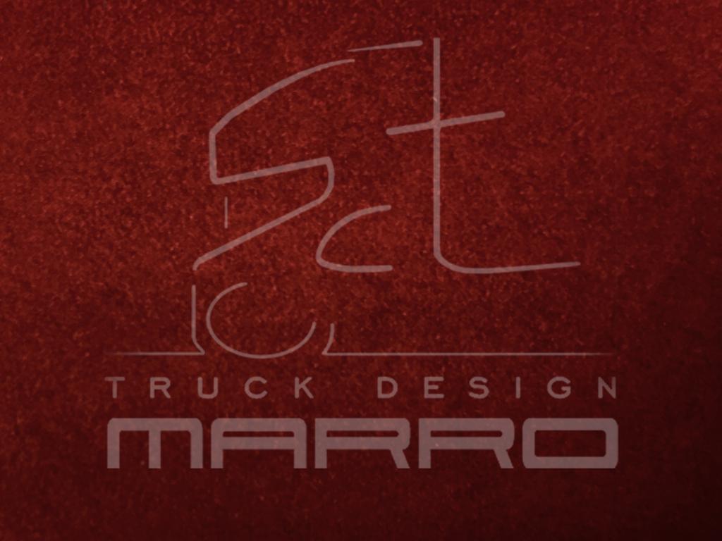 Gordijnen Alcantara 85 cm T1: bordeaux / sky boord - Marro SCT ...